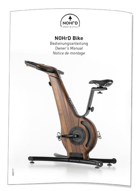 NOHrD Bike Bedienungsanleitung