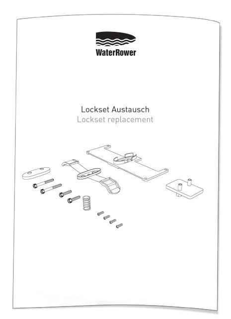 WaterRower Lockset Montage