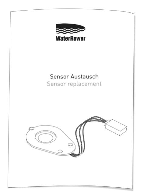 WaterRower Sensor-Austausch