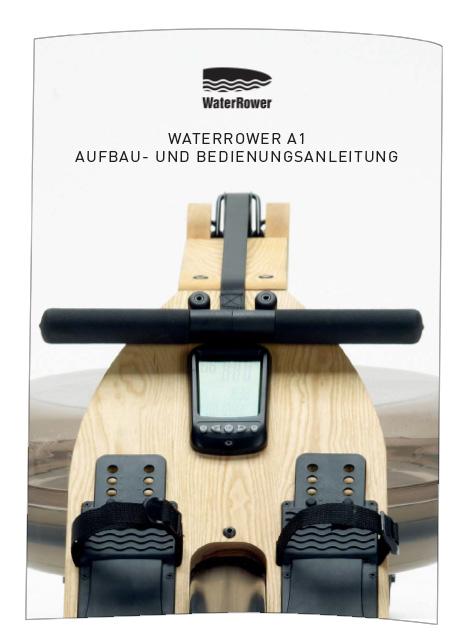 WaterRower Bedienungsanleitung