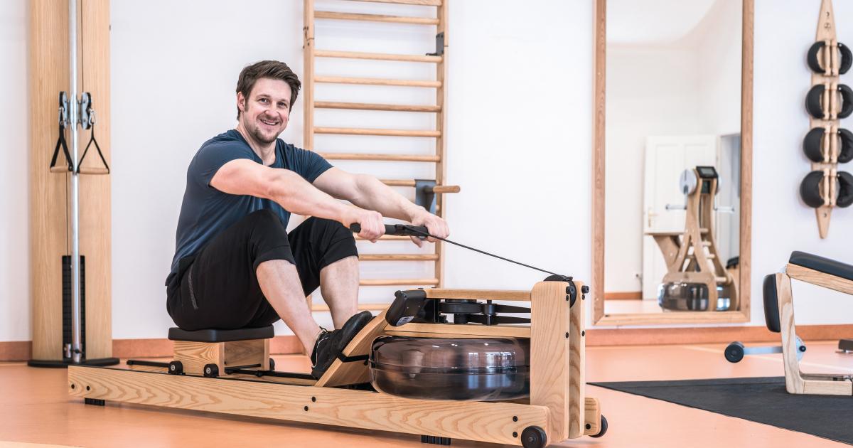 Matthias Steiner trainiert mit NOHrD & WaterRower