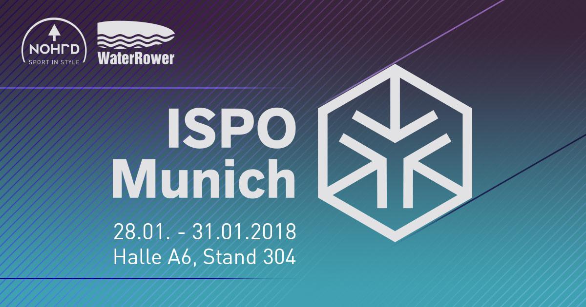 NOHrD & WaterRower auf der ISPO 2018
