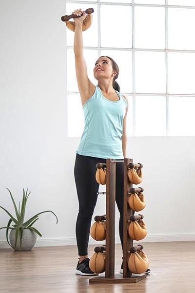 swing turm walnut