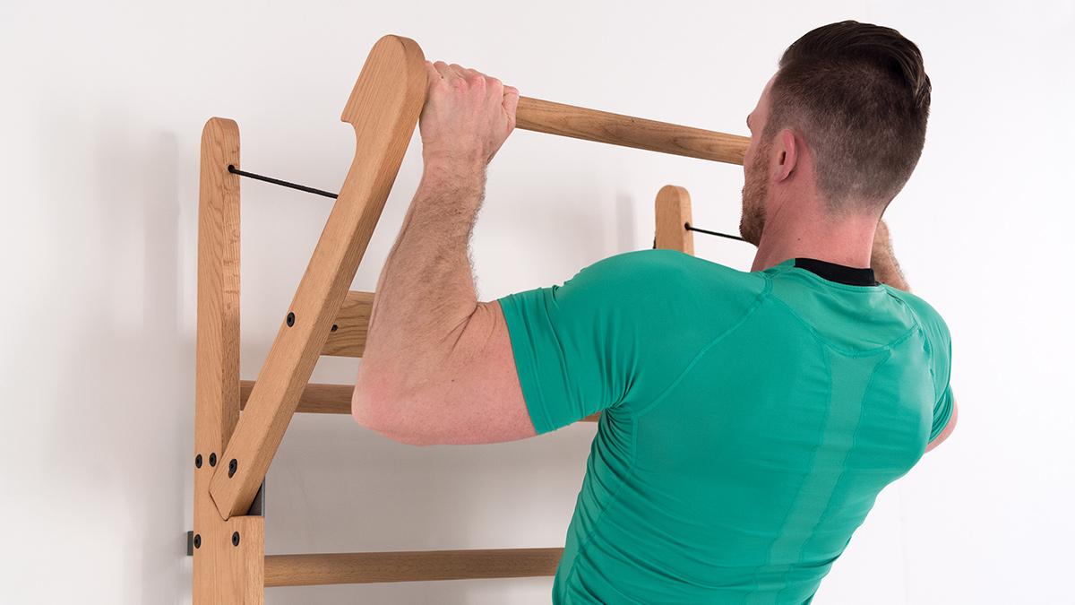 Wallbars Exercise