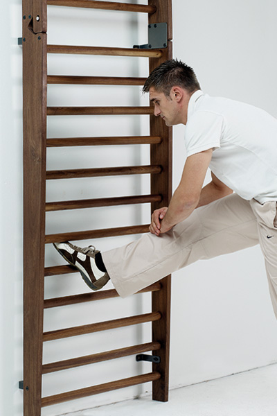 wallbars nussbaum stretching