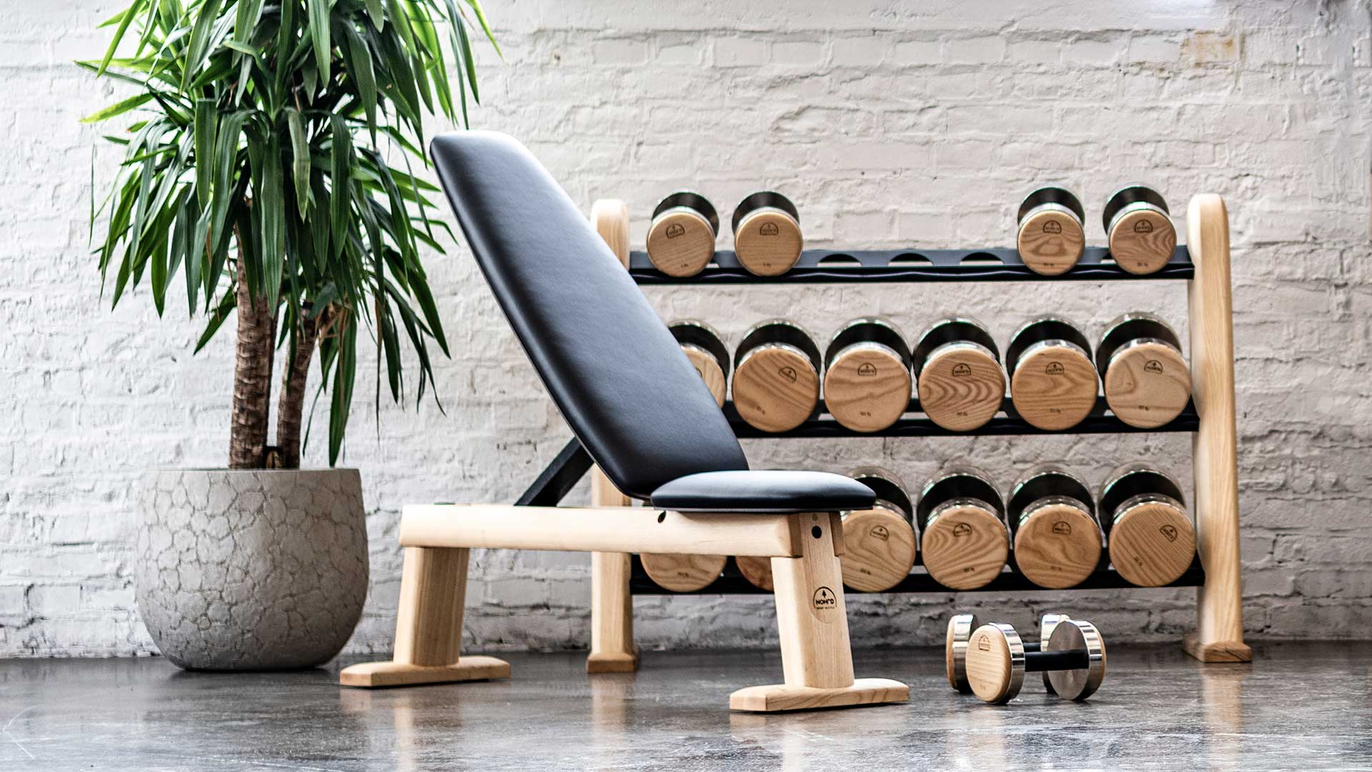 Nohrd Weightbench Made Of Solid Wood Weight Training